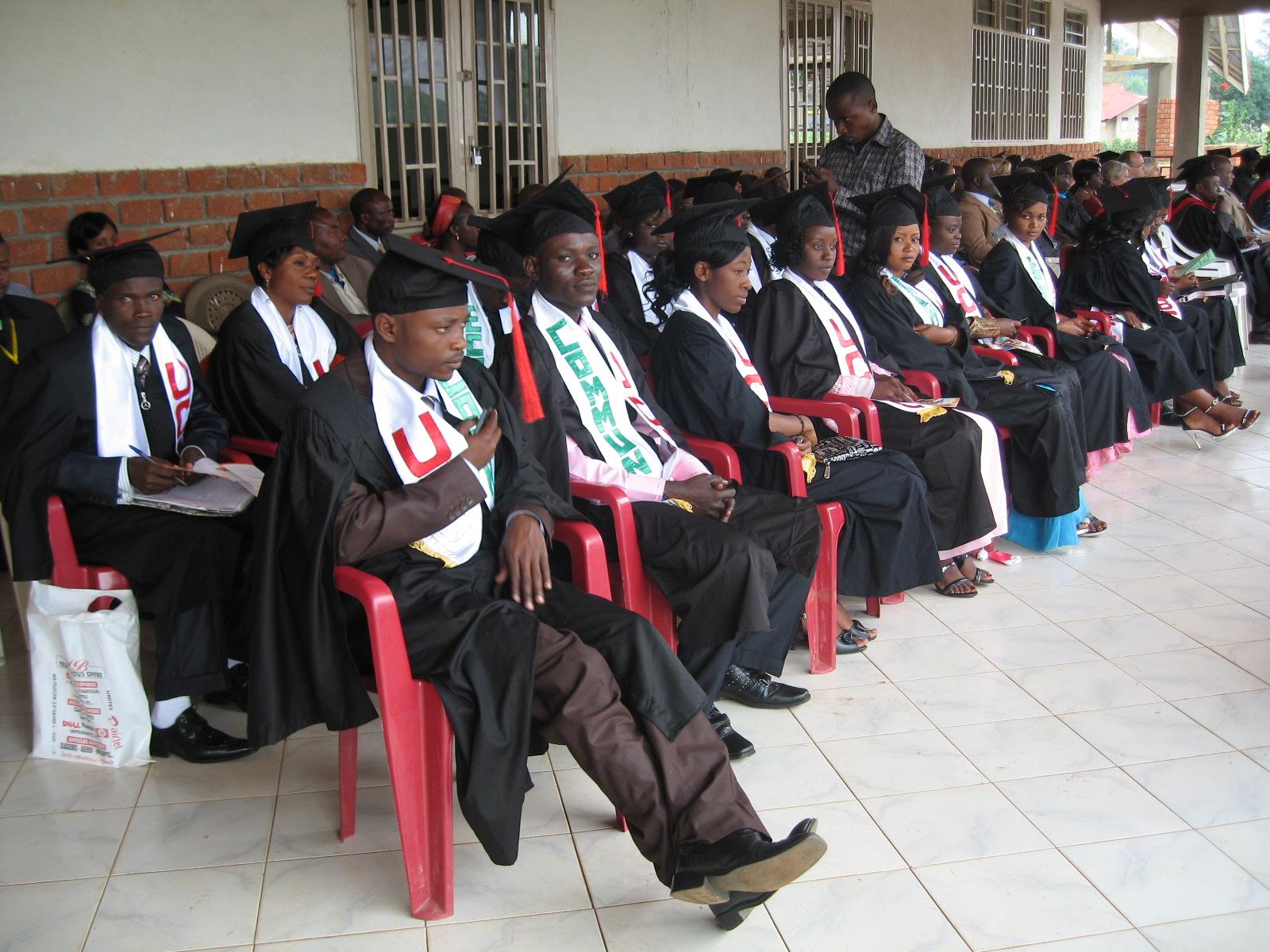 Ceremonie de collation de grades académiques en ville de Beni